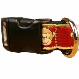 The Good Dog Eco-Friendly Monkey Dog Collars S/M